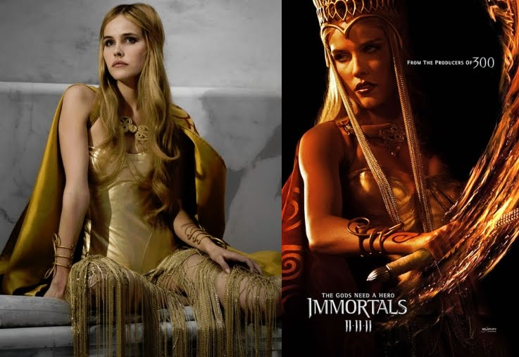 Immortals Film Athena