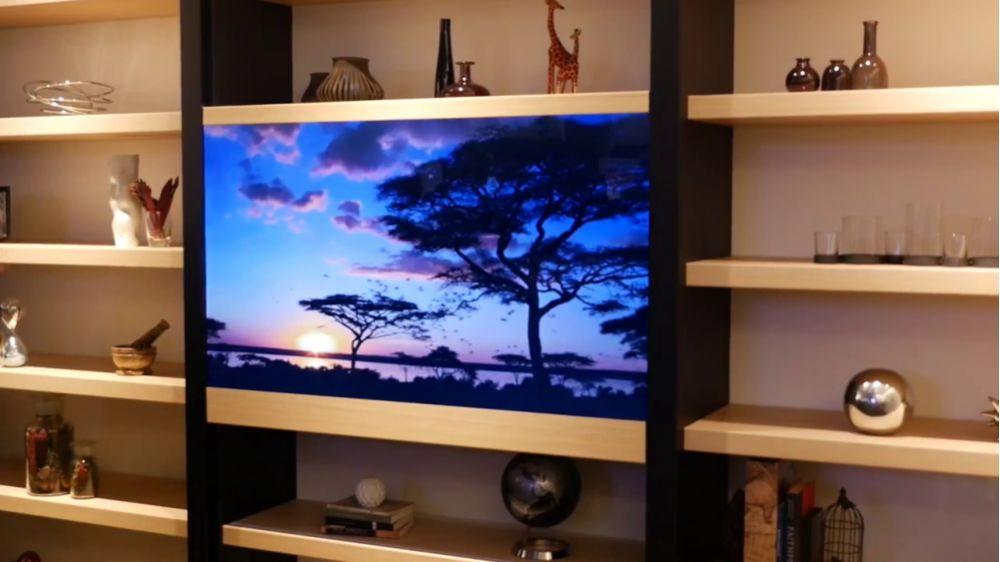 Tv Trasparente