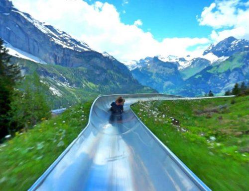 Lo scivolo più bello del mondo è in Svizzera